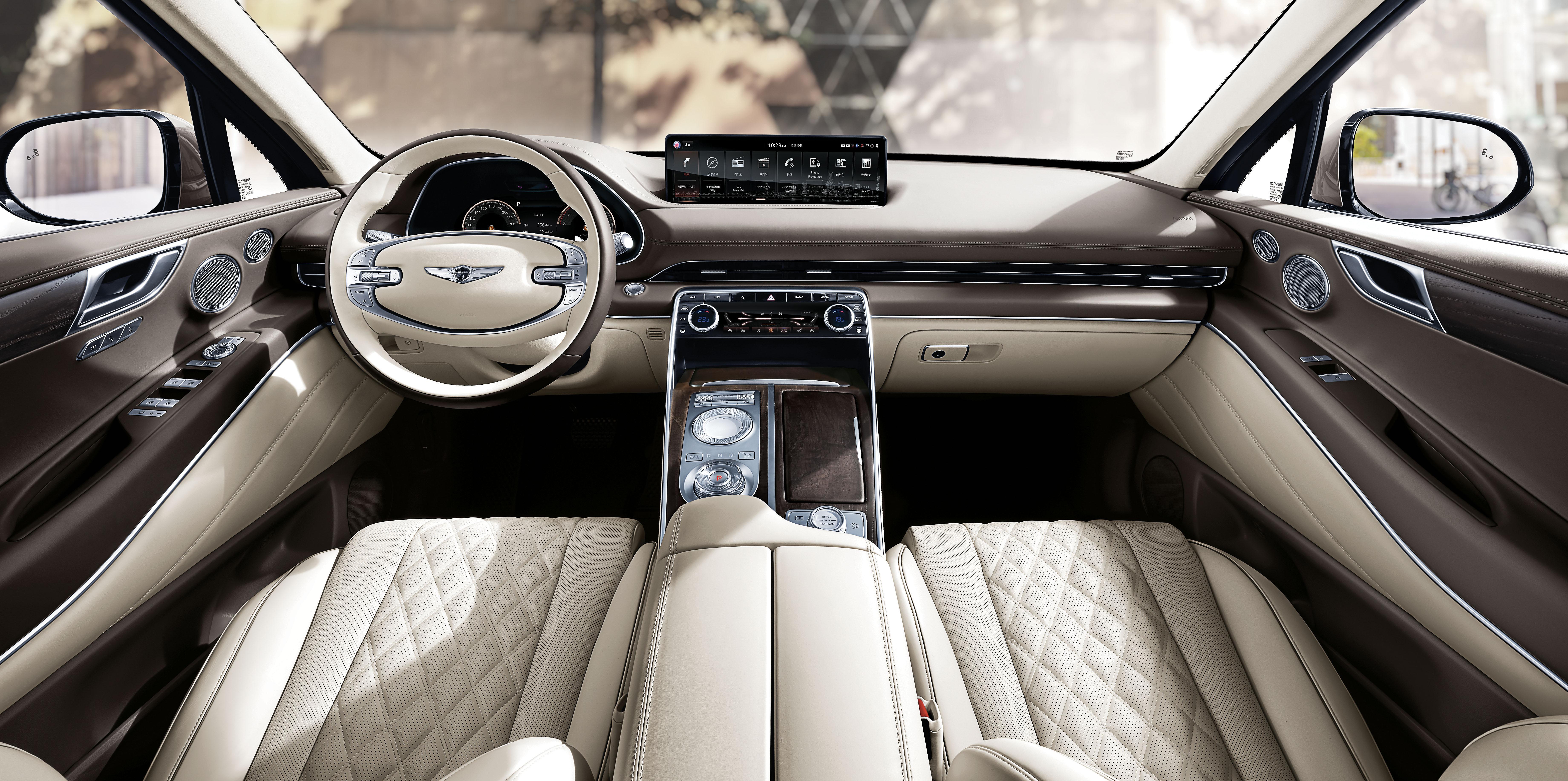 2020 Genesis GV80 Interior 2